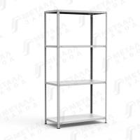 Стеллаж металлический архивный СТФЛ 1034-2,0 (100 кг на полку)
