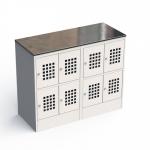 Шкаф металлический для ручной клади ШМ-С 24-30