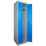 Шкаф металлический для одежды двухдверный ШРЭК-22-530
